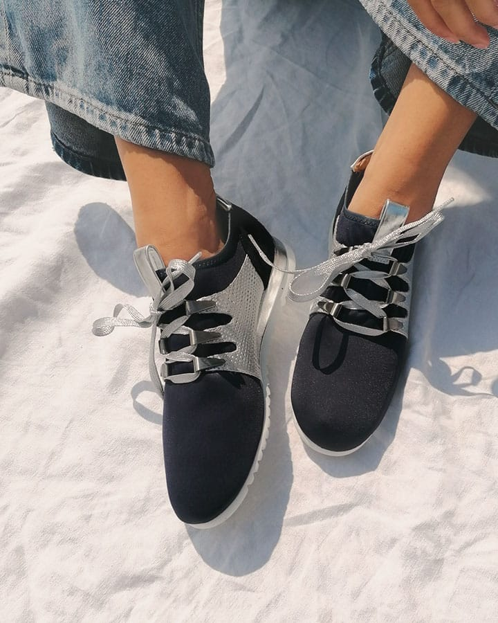 Basket chic Xyste Navy
