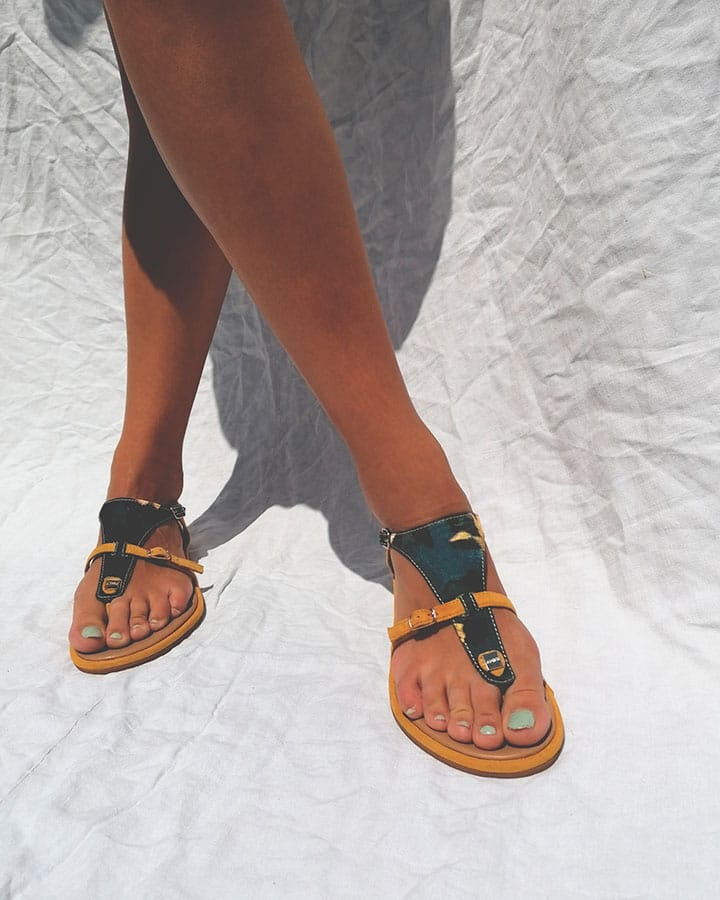 Sandale Jaune Chic Angel V3