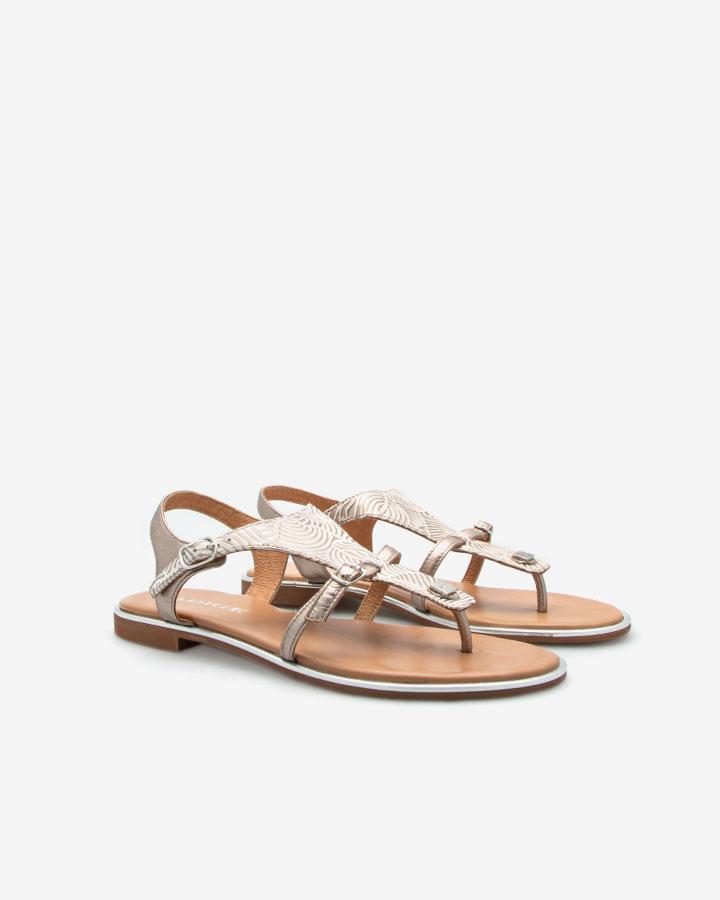 Sandale été Angel Stone dorée