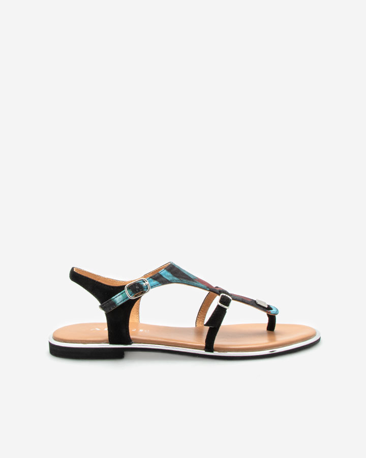 Sandale Angel Bleu plate