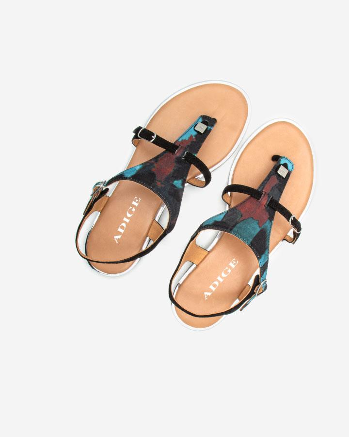 Sandale chic Angel Bleu plate
