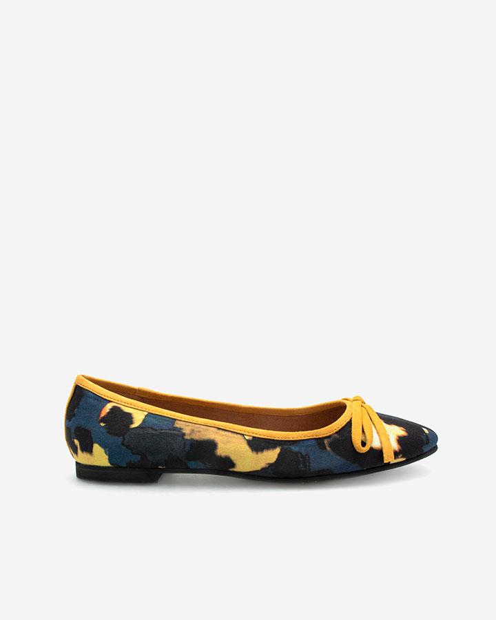 Delphy ballerine jaune