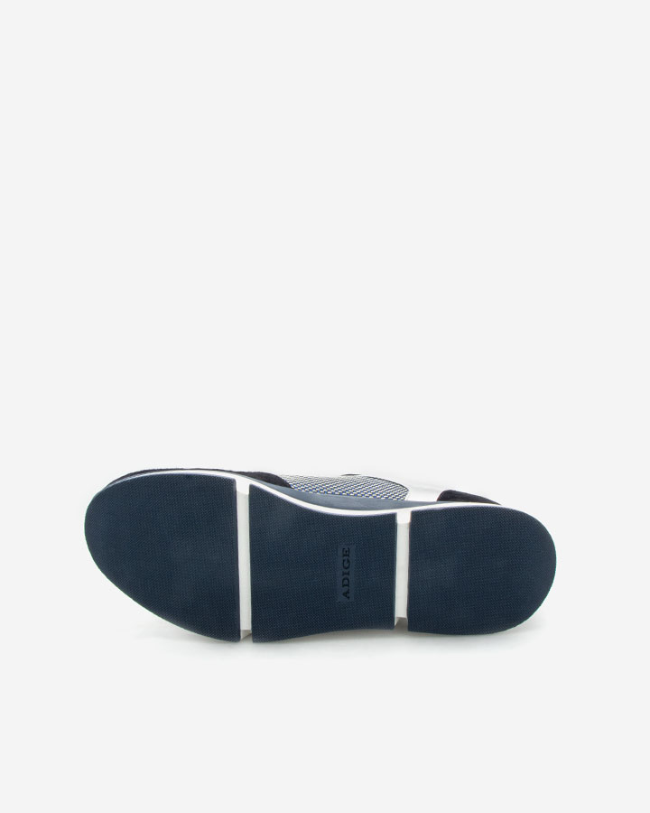 Basket chic et tendance bleu Vanina