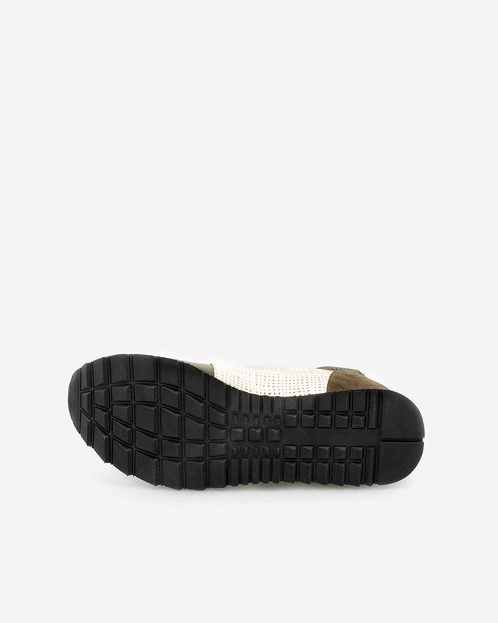 Basket confort kaki Xysta