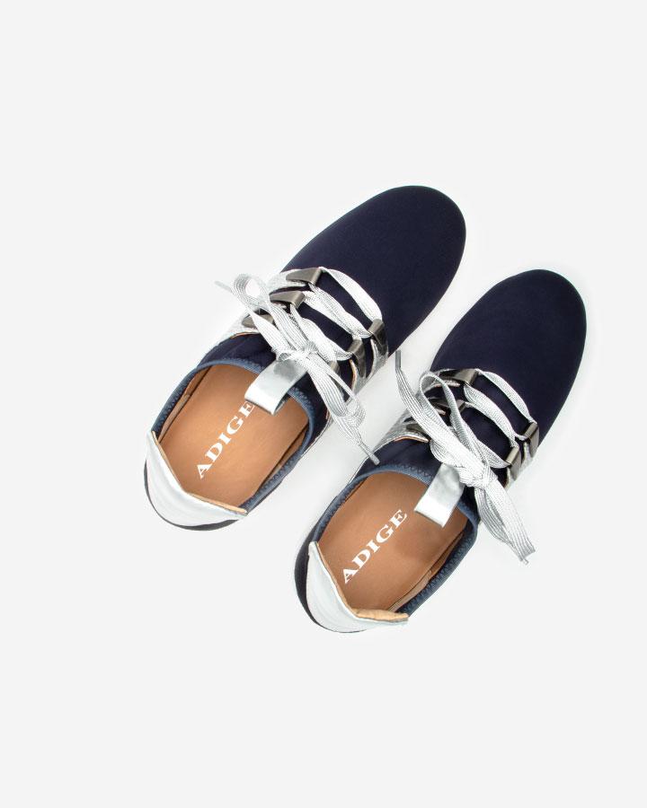 Basket tendance confort Xyste bleue