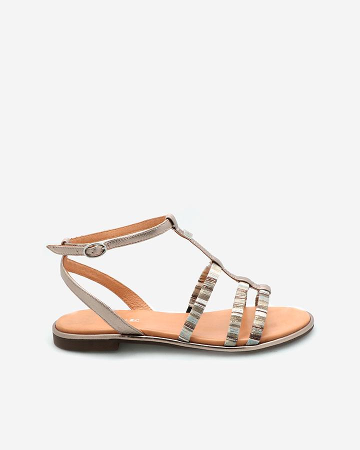 Asther sandale dorée
