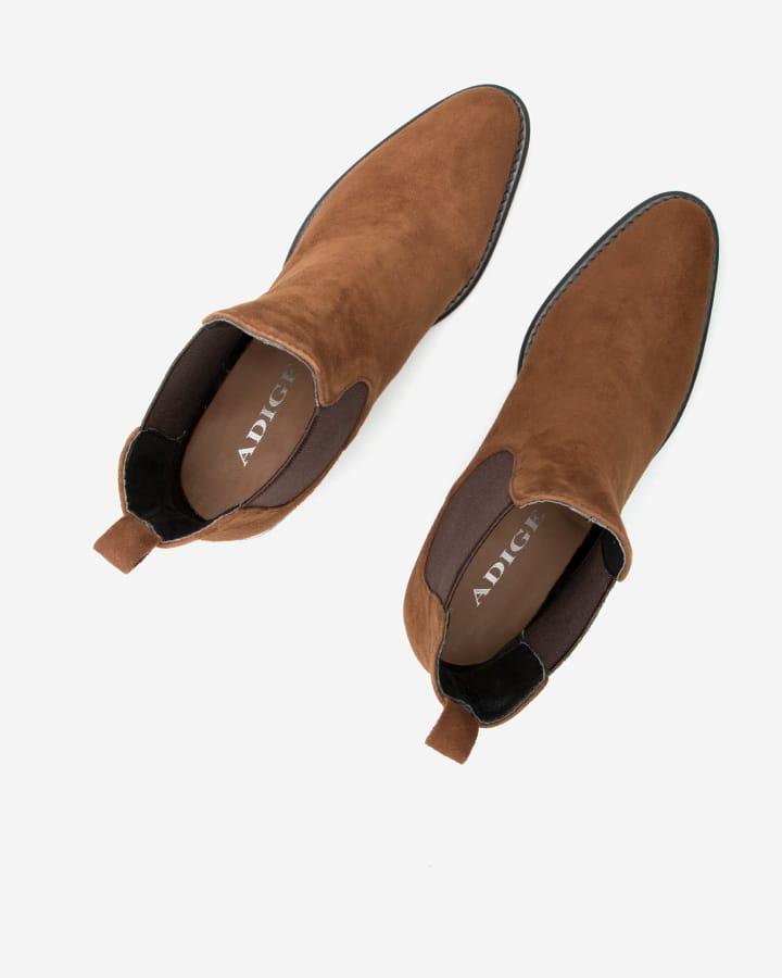 bottines diva femme marron camel tendance