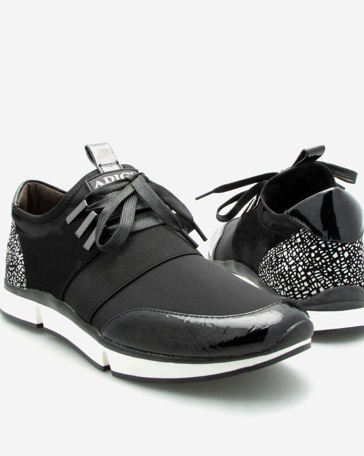 Sneaker sport Venus Lycra Noir