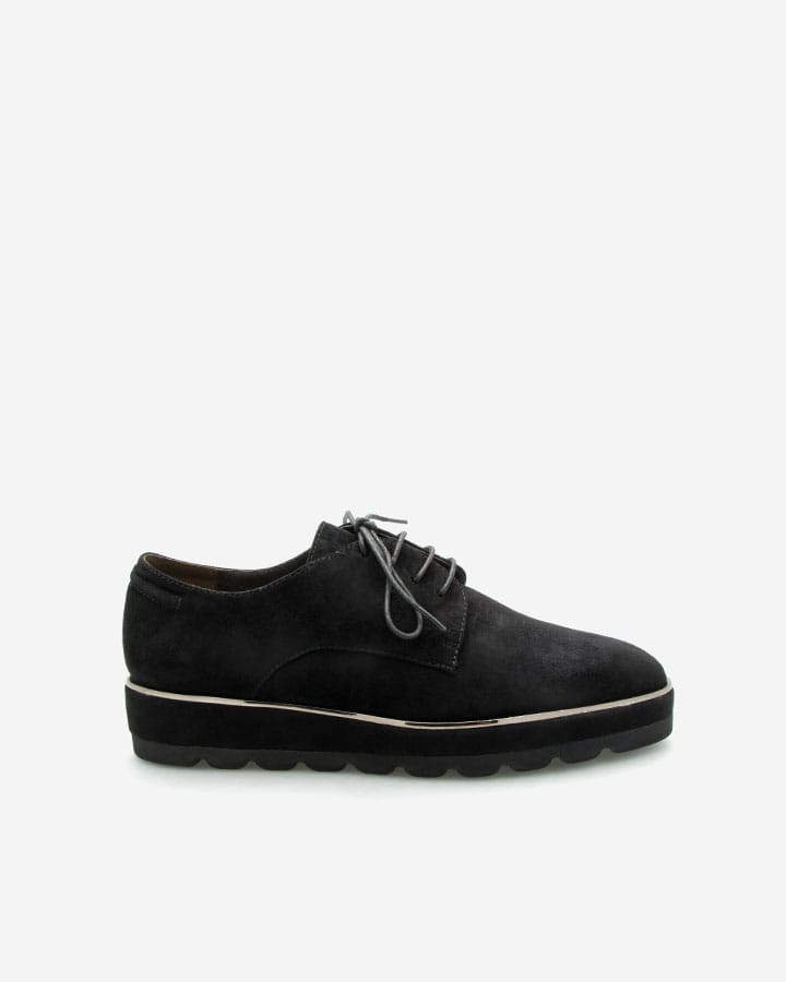 Derby chic Wilma velours noir