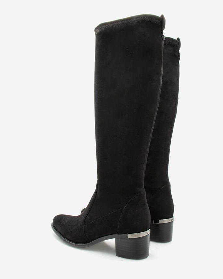Bottes intemporelle Diane stretch noir