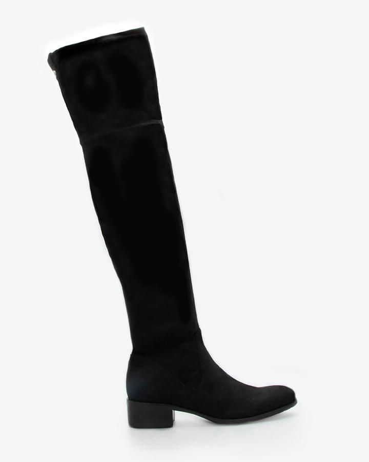 bottes stretch cuissardes noir