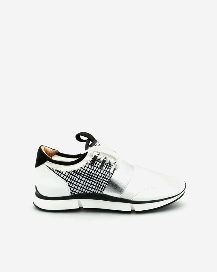 Sneakers Chic Femme Blanche