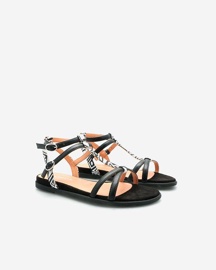 Sandale Chic Femme Noire