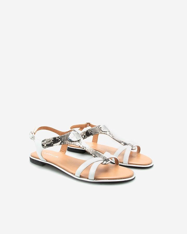 Sandales plates femme chic