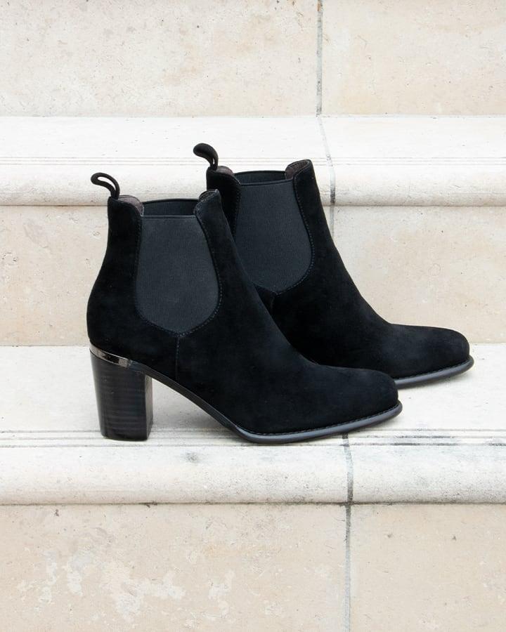 chelsea boots femme noir