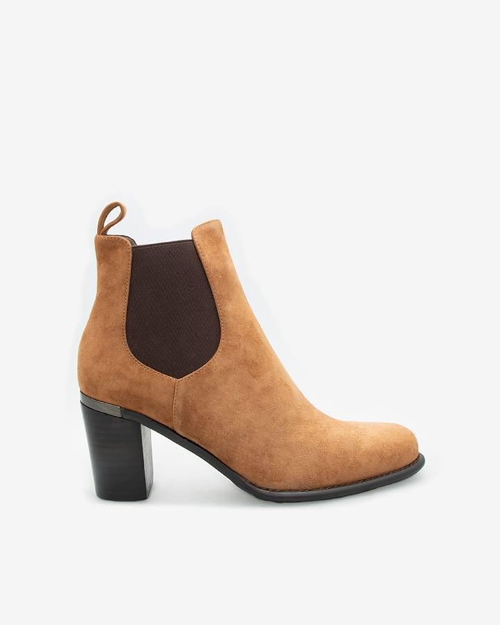 boots chelsea femme camel Fanny