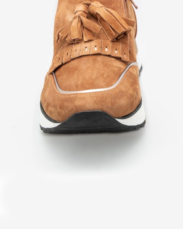 basket camel femme Xerve