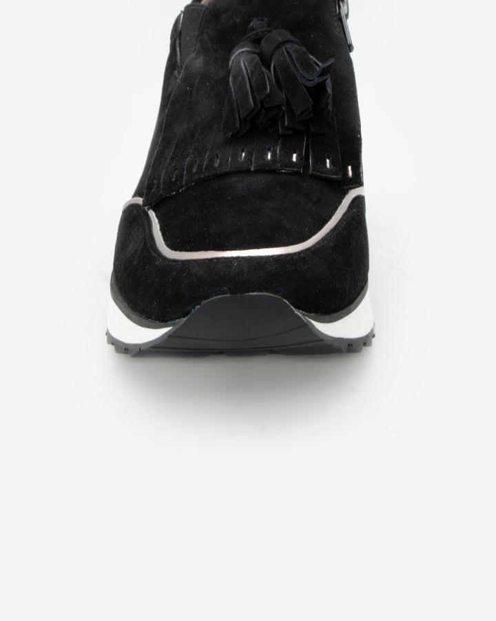 basket noire femme habillée