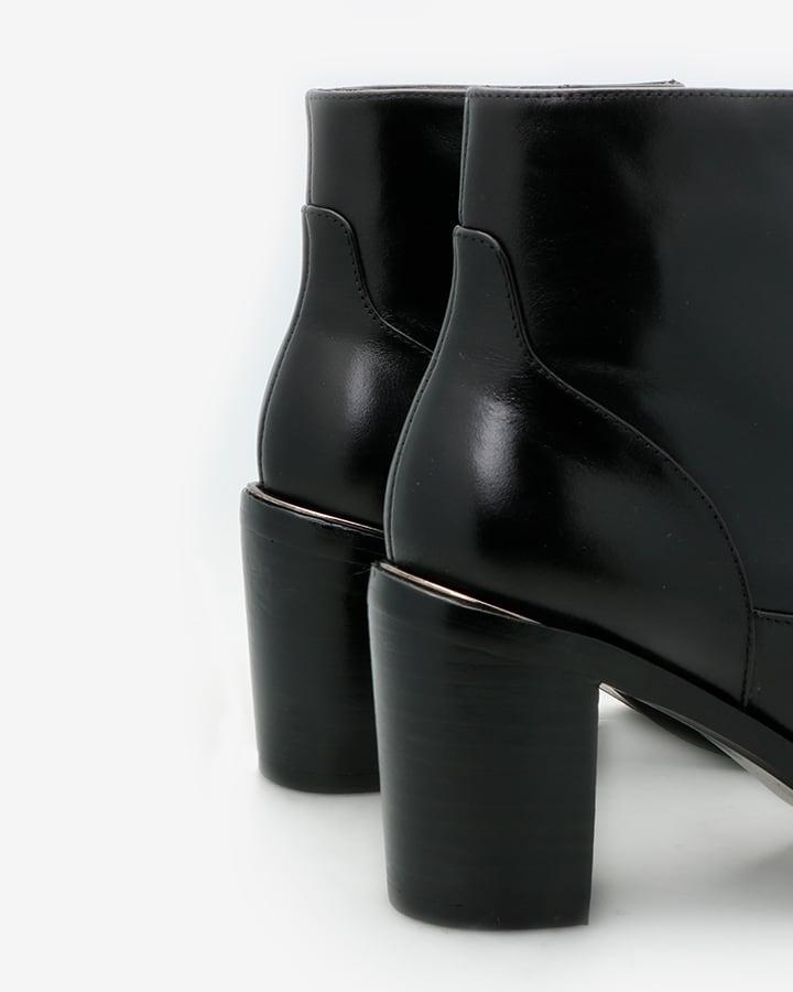Bottines élégantes noir femme