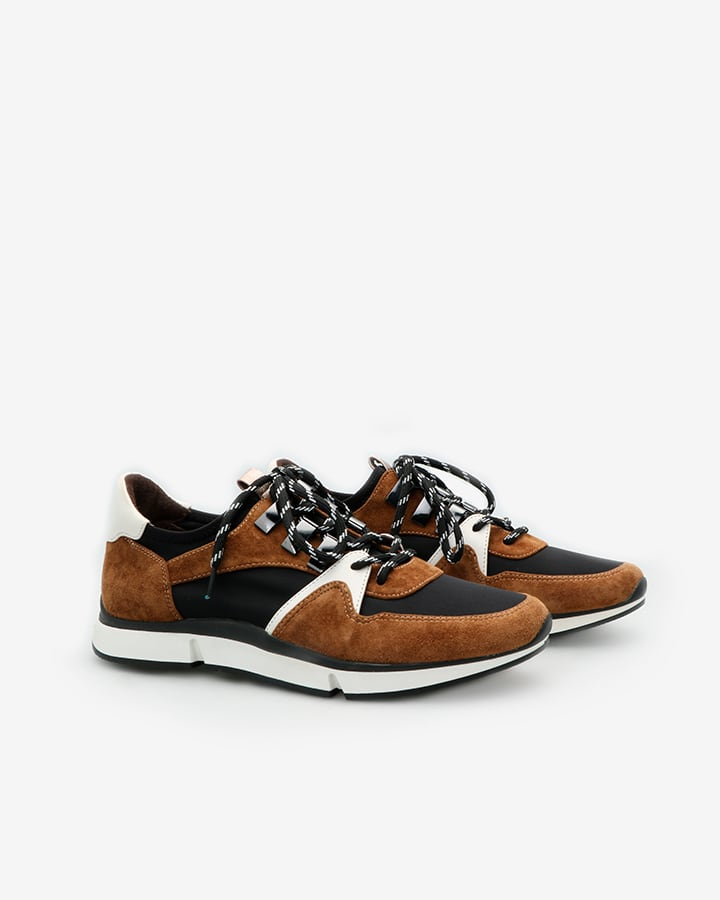 sneakers cuir femme tendance